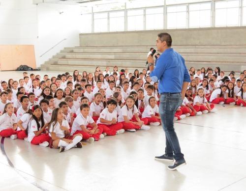 Coordinador Damian Diaz bienvenida Sanboni 2016