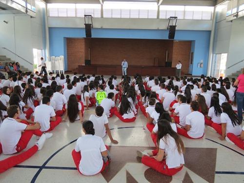 Inicio de clases primaria Sanboni 2016