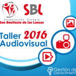 TALLER AUDIOVISUAL SANBONI 2016