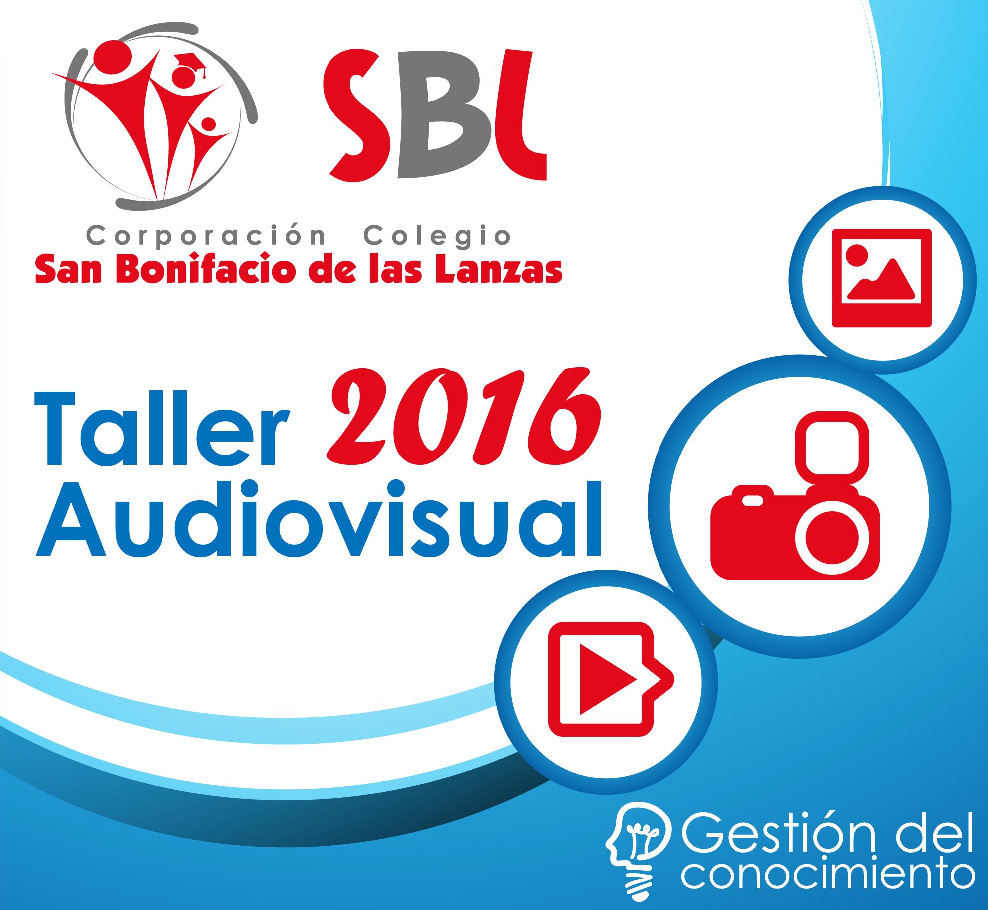 Taller audiovisual Sanboni 2016 por Equipo de Gestión del Conocimiento