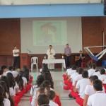 ESTUDIANTES DEL SAN BONIFACIO RECIBIERON IMPOSICIÓN DE LA SANTA CENIZA DURANTE INICIO DE LA CUARESMA