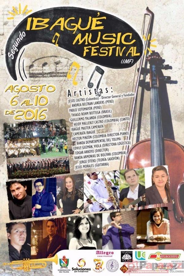 DOCENTES DEL SAN BONIFACIO PARTICIPAN DEL  IBAGUÉ MUSIC FESTIVAL . CONOZCA TODA LA PROGRAMACIÓN.