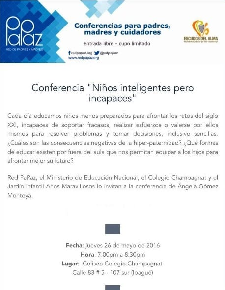 Conferencia Red Papaz - Info