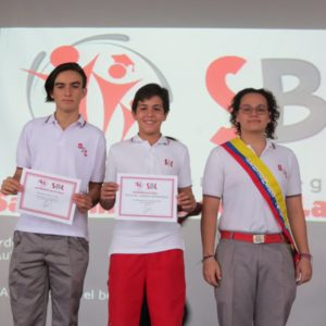 Se posesionó nuevo Consejo Estudiantil del San Bonifacio