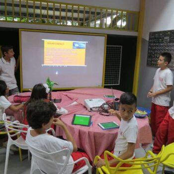 Estudiantes del grado quinto presentaron resultados de su proyecto: Tecnología y Sociedad