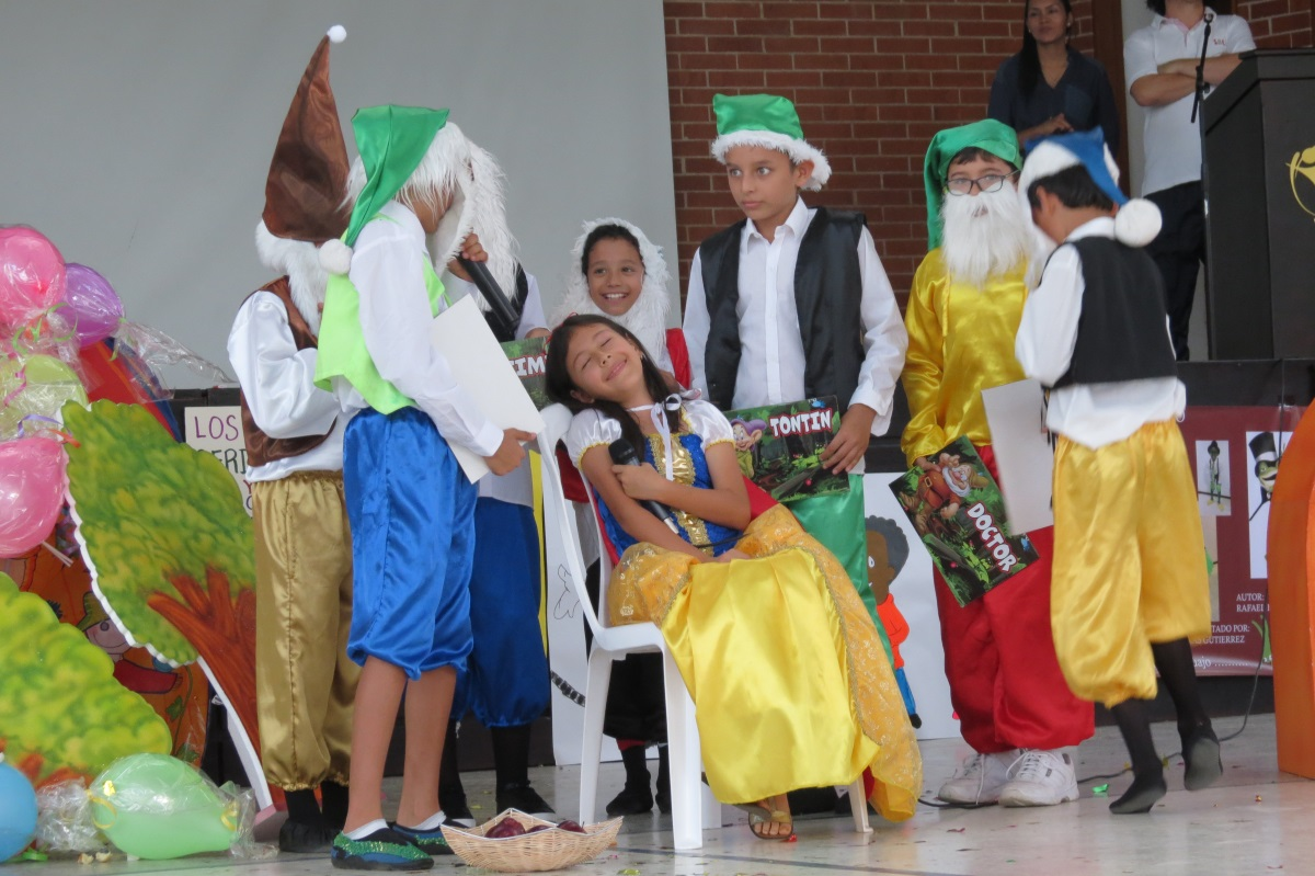 La lengua castellana  tuvo su  festival en el 'Sanboni'