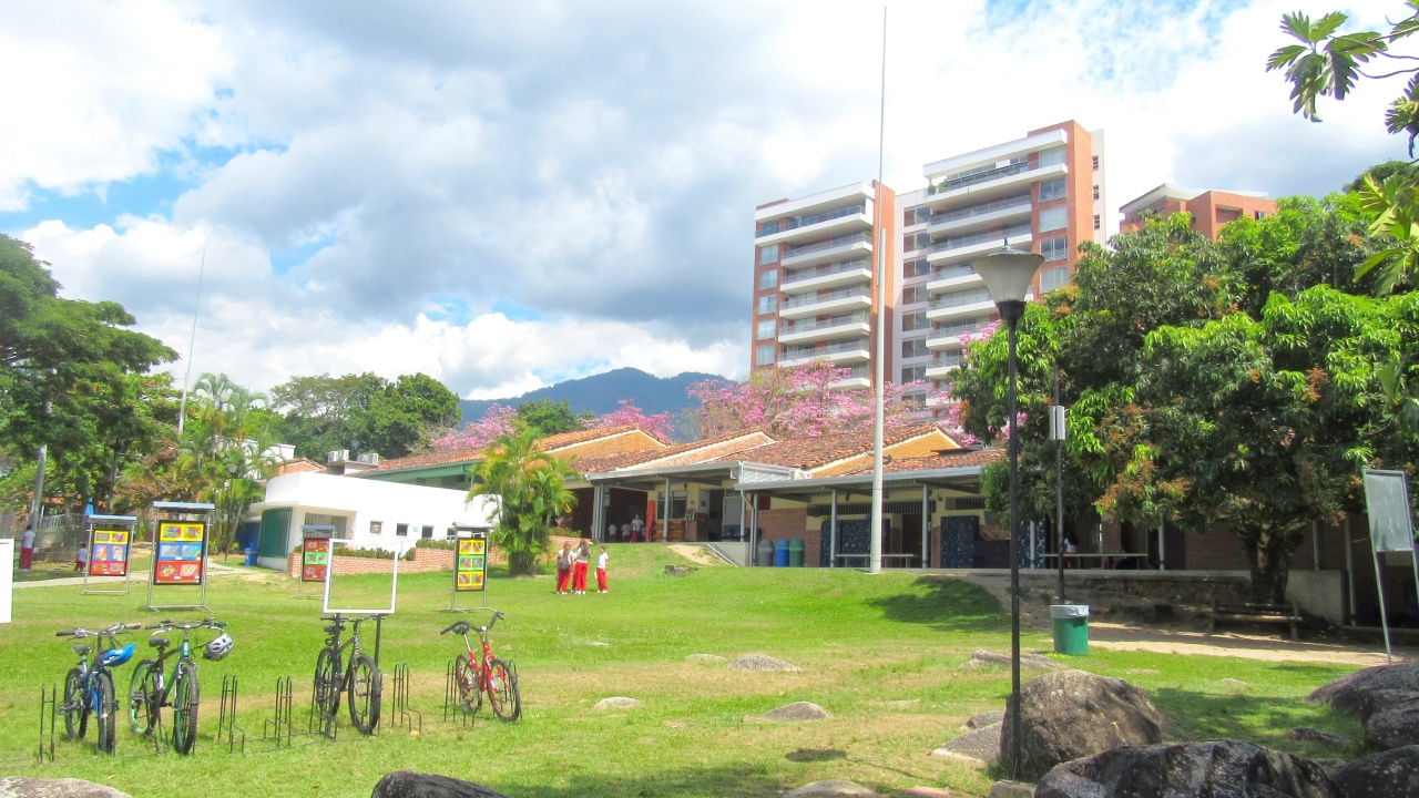 Zona verde salones primaria
