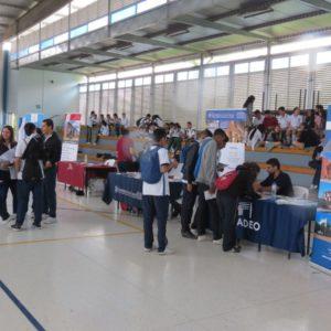 Doce de las mejores universidades del país, reunidas en el colegio San Bonifacio