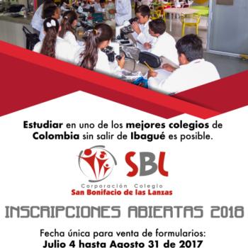 INSCRIPCIONES 2018. TODA LA INFORMACIÓN