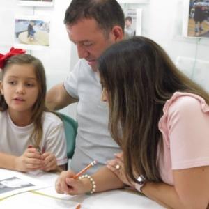 Estudiantes del grado primero hablaron de sus sueños durante proyecto de aula
