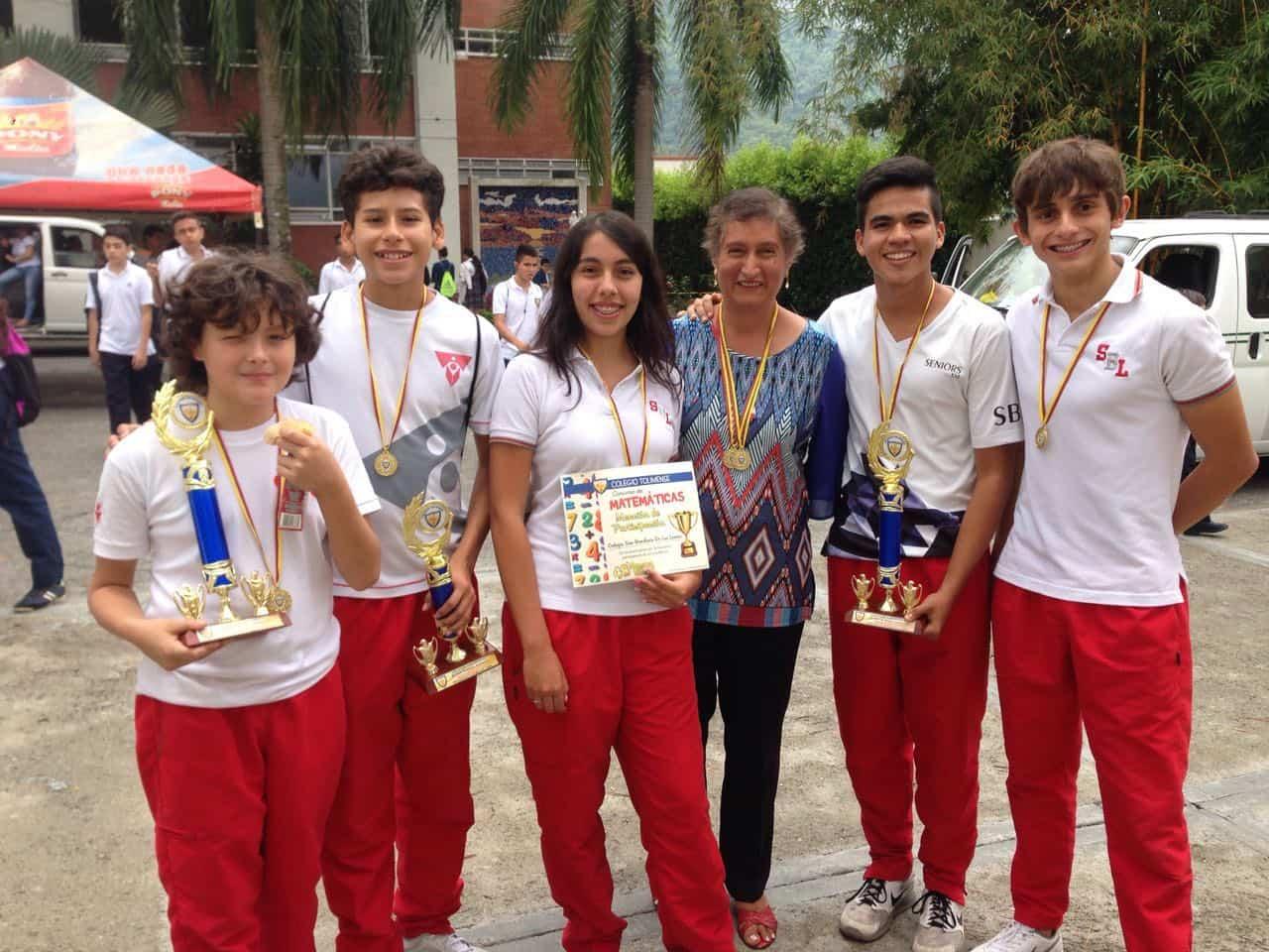 Olimpiadas Matemáticas Intercolegiadas 2016