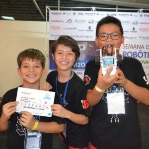 Estudiantes vivieron enriquecedora experiencia durante semana de la innovación y la robótica de Medellín