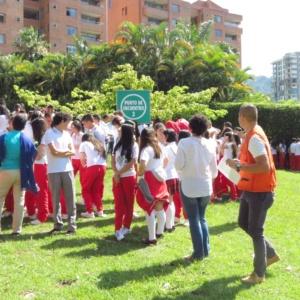 Colegio San Bonifacio realizó con éxito simulacro de evacuación