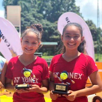 Estudiantes del San Bonifacio alcanzaron título y subtitulo en torneo de tenis de Pereira