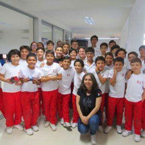 Estudiantes del San Bonifacio, listos para torneo internacional de robótica RUNIBOT 2018