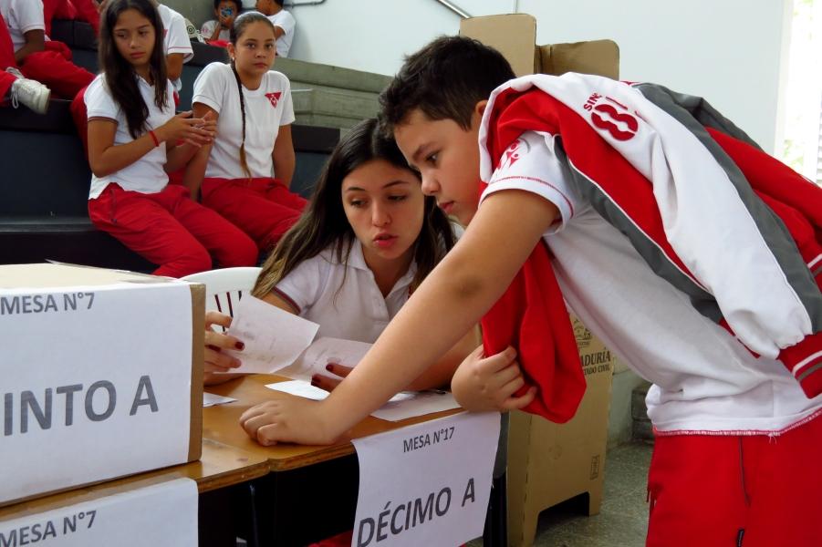Elección personeros 2017