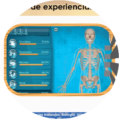 Experiencias Docentes - Gamificación Ciencias Naturales
