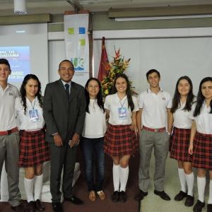 ESTUDIANTES DEL SAN BONIFACIO PARTICIPARON EN FORO NACIONAL DE CULTURA CIUDADANA