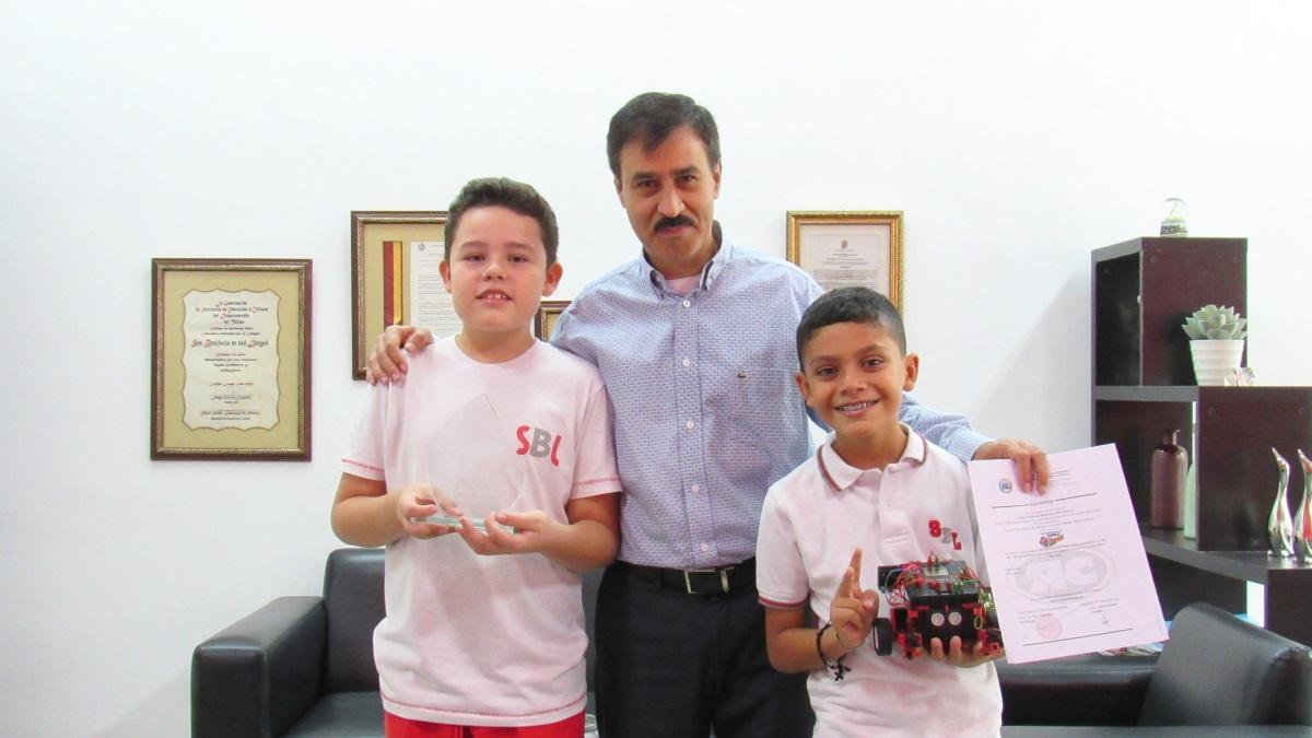 Colegio San Bonifacio obtiene primer puesto en Torneo Internacional de robótica y gana cupos para competencias en Rumania y México