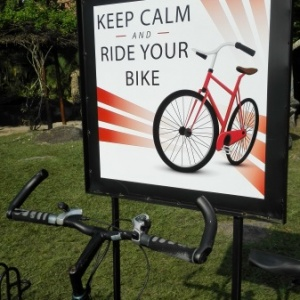 A partir de hoy se amplió el espacio destinado al parqueo de bicicletas dentro del campus
