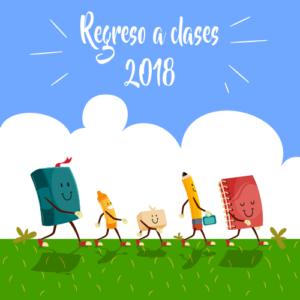 Regreso a clases 2018