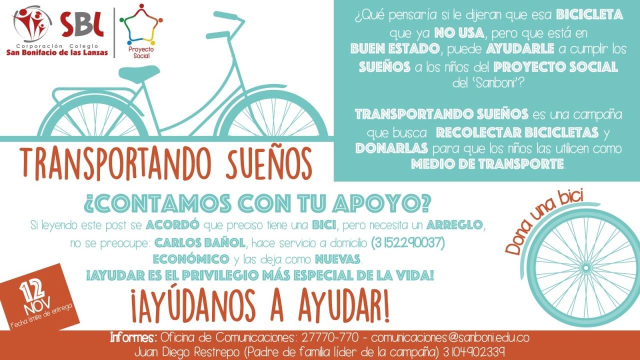 Transportando Suenos - Proyecto Social